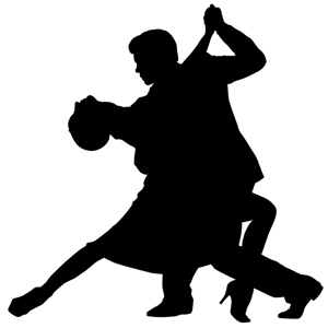 Argentine Dancing Silhouette on Samba Moves And Steps